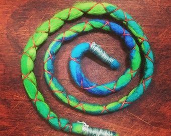 Dreadlock tie/Dread ties/Dreadlock accessories/Dread-wrap/Felt Dread tie
