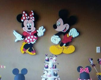 Minnie & Mickey Mouse