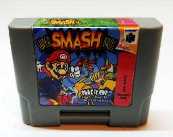 N64 Memory Pak with Smash Brothers sticker (256KB)