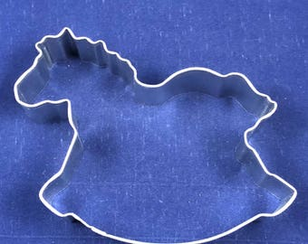 "Rocking Horse 4"" Cookie Cutter"