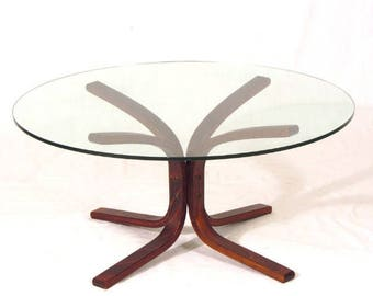 Ingmar Relling Bentwood Coffee Table for Westnofa
