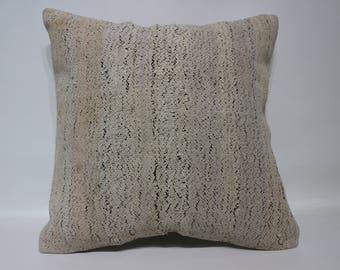 Handwoven Kilim Pillow Boho Pillow 20x20 Anatolian Kilim Pillow Sofa Pillow Throw Pillow Decorative Kilim Pillow Cushion Cover  SP5050-2515