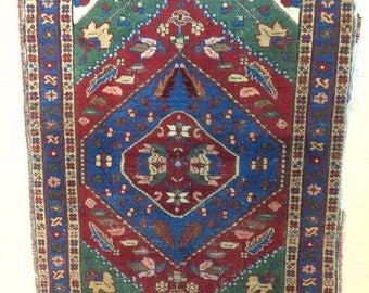 Persian Heriz Rug Hand Woven Area Rug, Home Decoration, Carpet, Rug, Article