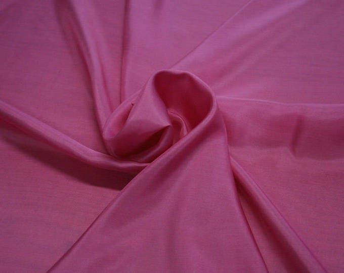 402130-taffeta natural silk 100%, width 110 cm, made in India, can be used liner, dry wash, weight 58 gr