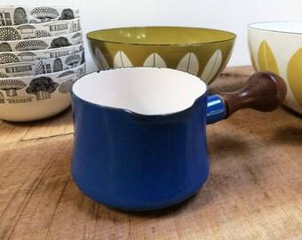 Dansk Kobenstyle Butter Pot//Dansk Butter Warmer//Kobenstyle Sauce Pan//MCM Enamelware//French Enamel Cookware//Jens Quistgaard