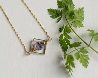 Rainbow Fluorite Necklace | Limited Edition