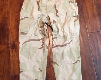 Military Desert Camo Pants  Large 35-32