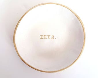 Key dish, trinket dish, key bowl, key holder, alternative key hook, personalised key dish, gifts for him, gifts for dad, gifts for husbands