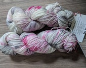 Yarn, Hand dyed yarn, Speckled Yarn, Superwash Merino/Nylon,Sock Yarn, Knitting Yarn, Crochet Yarn - 80's Prom Queen