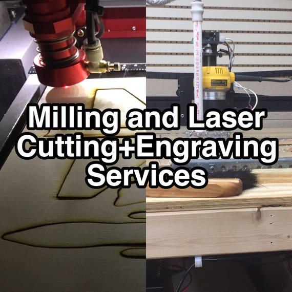 Custom Laser Engraving for Adam R.
