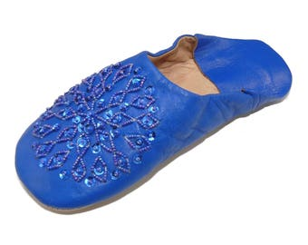 Oriental shoes Babouche Slippers shoes from Morocco-women