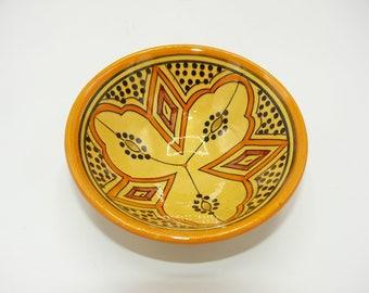 Oriental ceramic dish bowl bowls for dip and olives Ø 12 CM model SAMRA