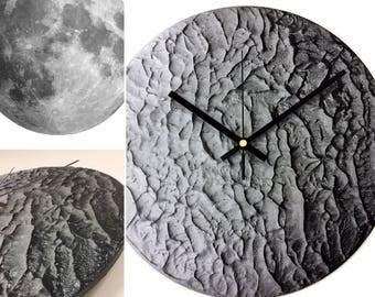 Moonscape Clock