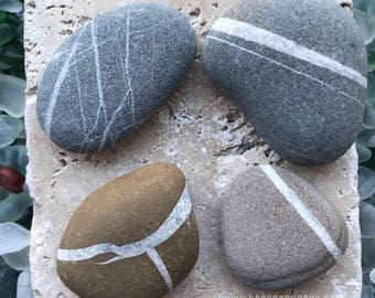 Wishing Stone. Wishing Rock. Meditation Stone. All Natural. Gift Box included. Make a Wish.