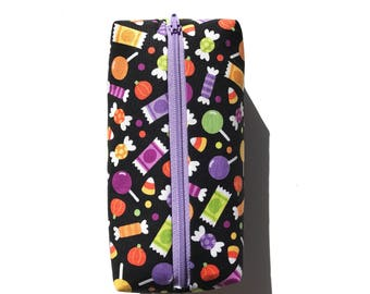TRICK OR TREAT candy pencil pouch