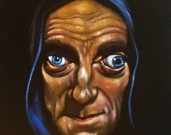 Marty Feldman as Igor, from 'Young Frankenstein'.