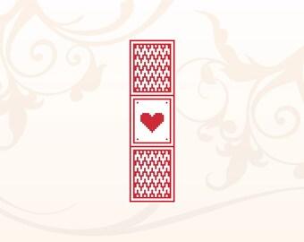 Bookmark Cross Stitch Pattern Instant Download