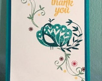 Thank You or Thinking of You Greeting Card