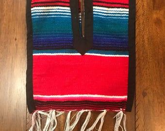 0-12M Handmade Mexican Baby Poncho