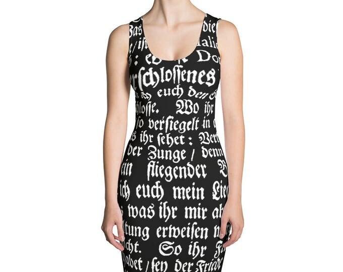 Deutsch- Bodycon Dress