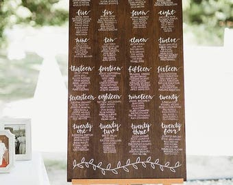 Wedding Seating Chart <225 names