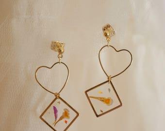 Lantana earrings