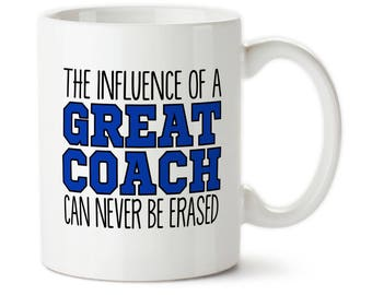 Coffee Mug, Personalized Coach Mug, Gift For Football Coach, Best Coach Ever, Customized Mug, Coach Gifts, Custom Coach Mug, Great Coach