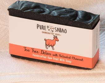 Tea Tree Detox with Activated Charcoal Goat Milk Soap