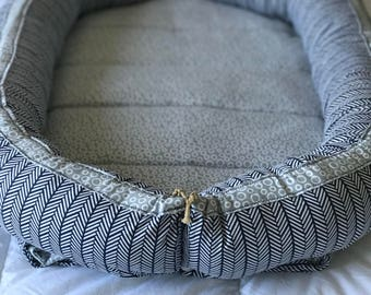 Roll-Up Baby Nest With Removable Mattress