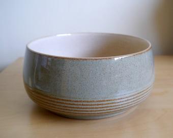 "Rare 8"" Denby Camelot salad serving bowl 1986 - 1993"