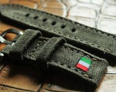 Canvas strap 130/80  24/24  for Panerai