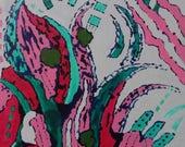16x20 Modern art Original...