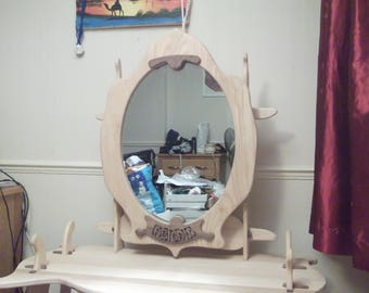 Bespoke hardwood dressing table
