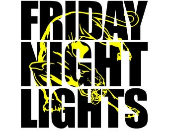Friday Night Lights Panther svg, dxf, jpg,