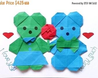 Origami valentine | Etsy - photo#11