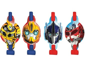 Transformers Blowout Favors [8ct] Birthday Party Supplies Rewards Prizes Loot