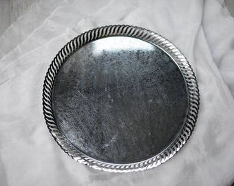 Vintage silver tray, silver, tray, styling kit, fine art photography, styled shoot, vintage silverware