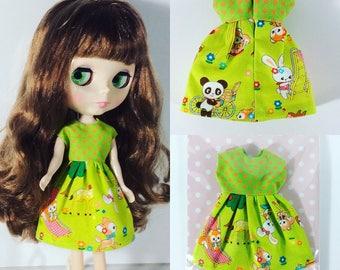 Cotton dress for Blythe Doll or Blythe dress