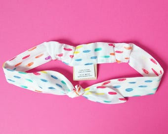 Kids organic cotton headband