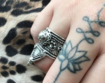 India inspired ring