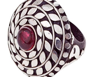 Fallon Ring silver plated (R15: 17)