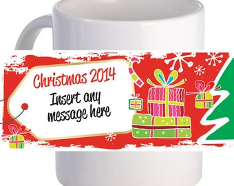 Beautifully Personalized Christmas Decorative Coffee Mug
