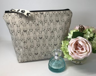 Ladies Make-Up Cosmetics Wash Bag