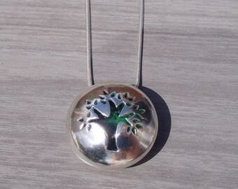 Tree of Life pendant, Sterling silver tree of life, Hallmarked