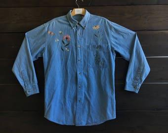 Vintage 90's Flower Shirt