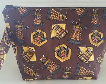 Daleks medium project bag