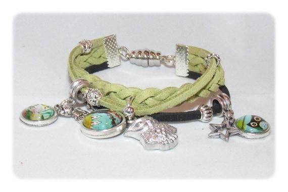 Cuff style bracelet * spring வசந்த * Unique