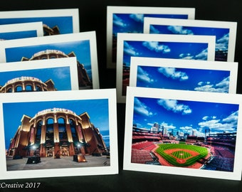 Blank Cards with envelopes, STL Cardinals, Busch Stadium, St Louis, Cardinal Fan, Blank Note Cards,  Father's Day Cards