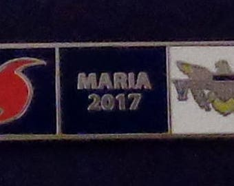 Hurricane MARIA 2017 US Virgin Islands USVI Uniform Award/Commendation Bar pin