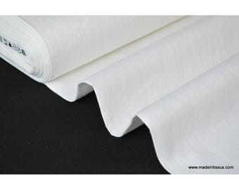 White washed linen fabric for making x50cm